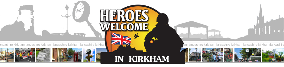 Heroes Welcome Banner